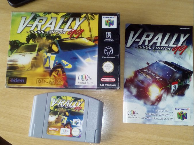 V-RALLY EDITION 99 NINTENDO 64