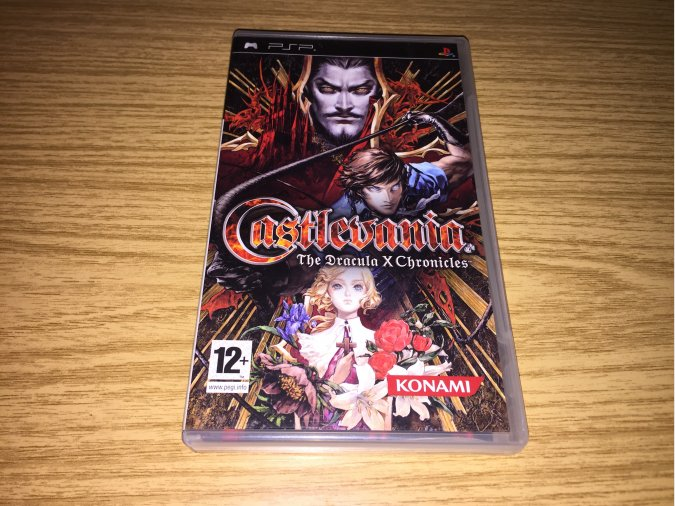 Castlevania The Dracula X Chronicles PSP