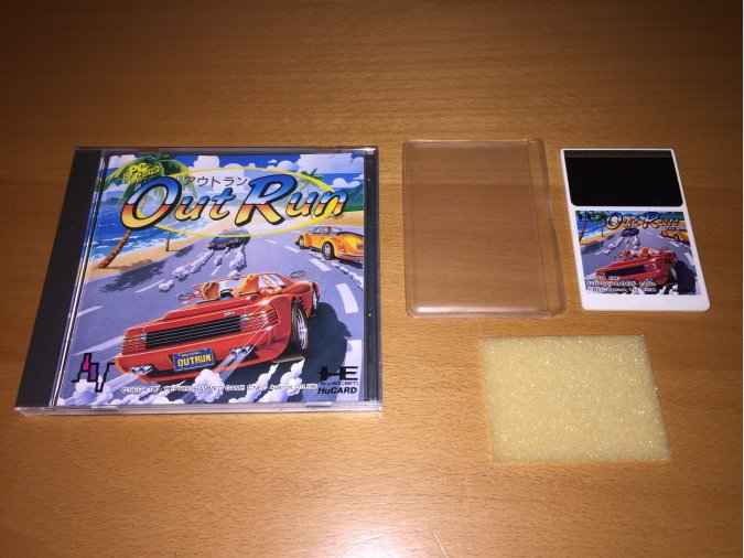 Out Run juego original PC-Engine