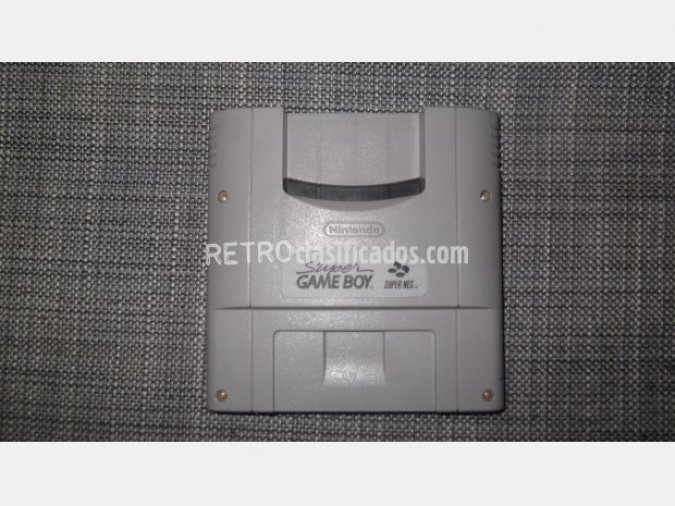 Super Game Boy adaptador para Game Boy