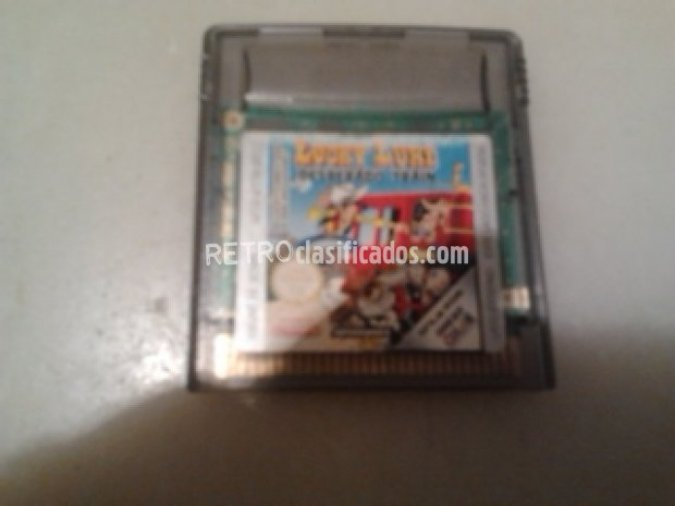 LUCKY LUKE DESPERADO TRAIN GAMEBOY COLOR VENDIDO