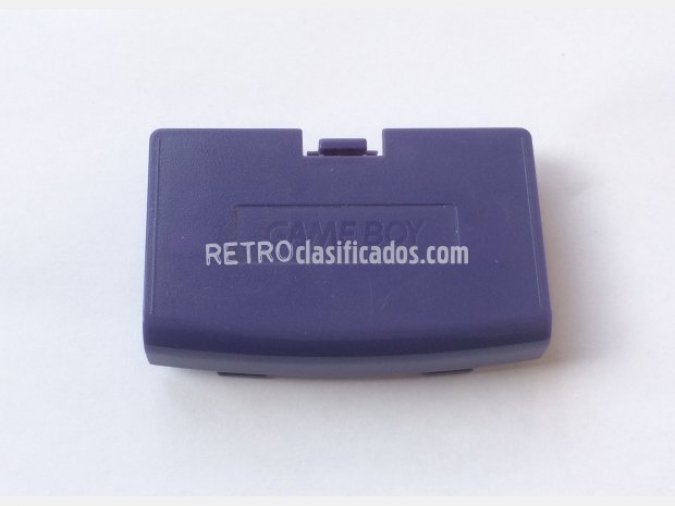 Tapa de batería Game Boy Advance Azul