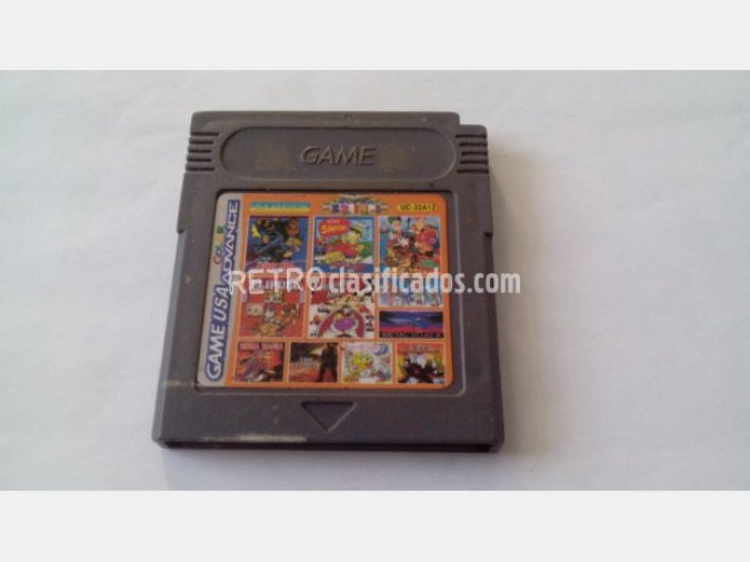 GAMEBOY 32 EN 1 CONTRA ALIEN WARS ETC..