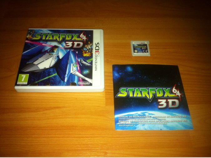 Star Fox 64 3D Nintendo 3DS