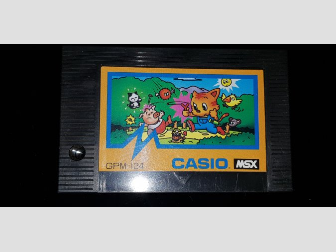 Adventure of a small cat - Casio GPM-124 1986