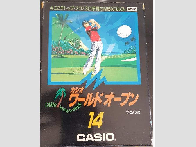 Casio World Open MSX1 Completo