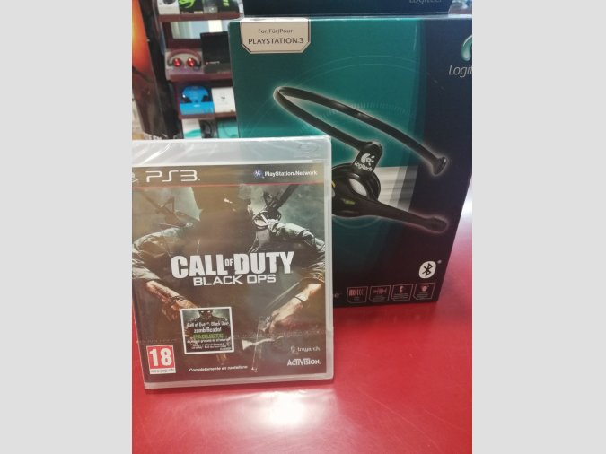 MICRO LOGITECH CORDLESS VANTAGE+JUEGO CALL OF DUTY BLACK