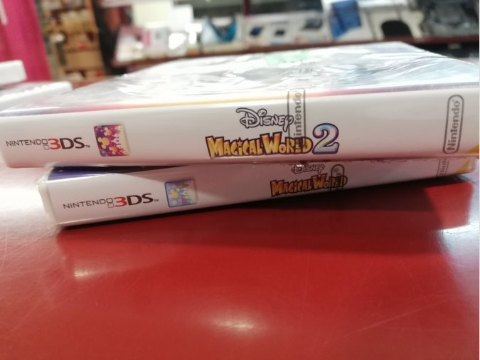 JUEGOS DISNEY MAGICAL WORLD+MAGICAL WORLD 2 PRECINTADOS 3DS