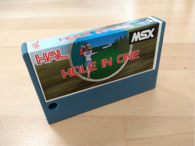 Juego MSX Hole In One Hal Laboratory