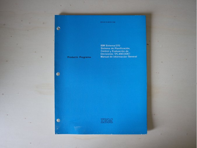 IBM Sistema/370 Manual de Información General