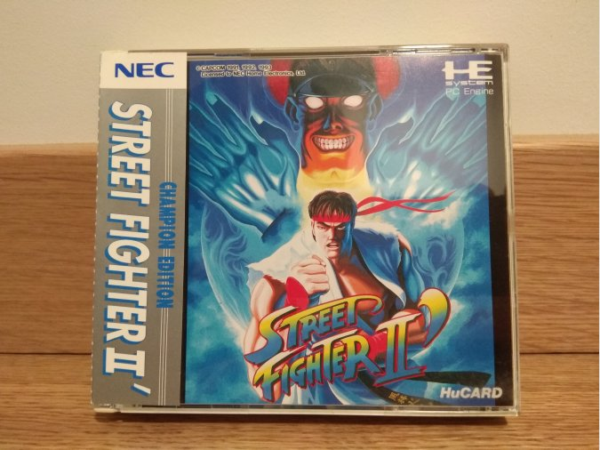 Street Fighter II Champion Edition. PC-Engine