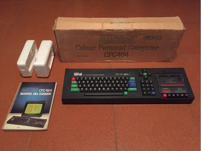 Amstrad CPC 464 Computer System Boxed