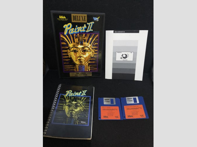 Software Amiga Deluxe Paint 2