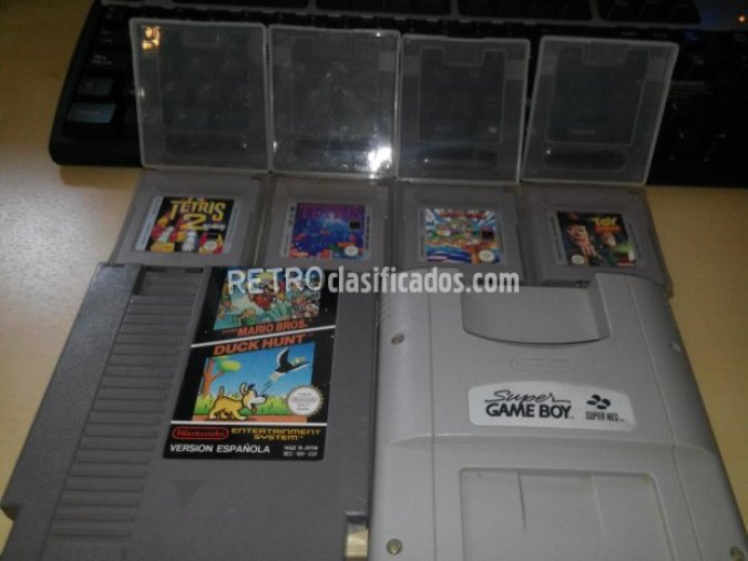 Juegos Gameboy + Super Gameboy