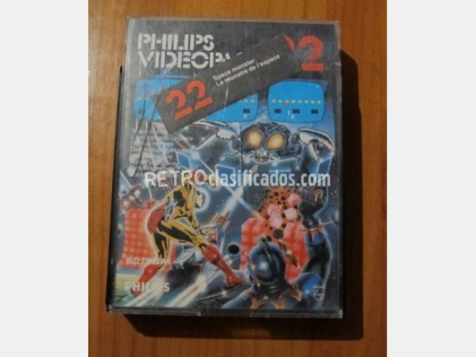 Videopac + número 22. Space Monster