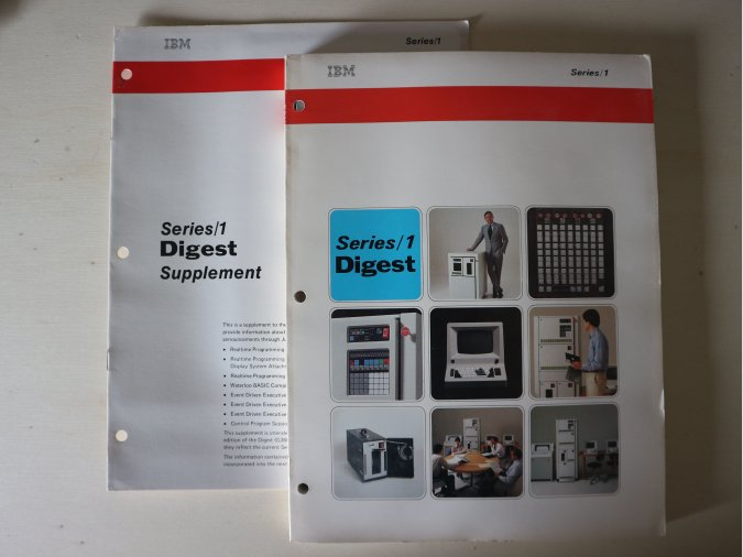 IBM Series/1 Digest + Suplement 1979
