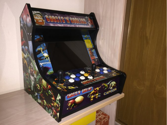 Maquina Recreativa bartop arcade