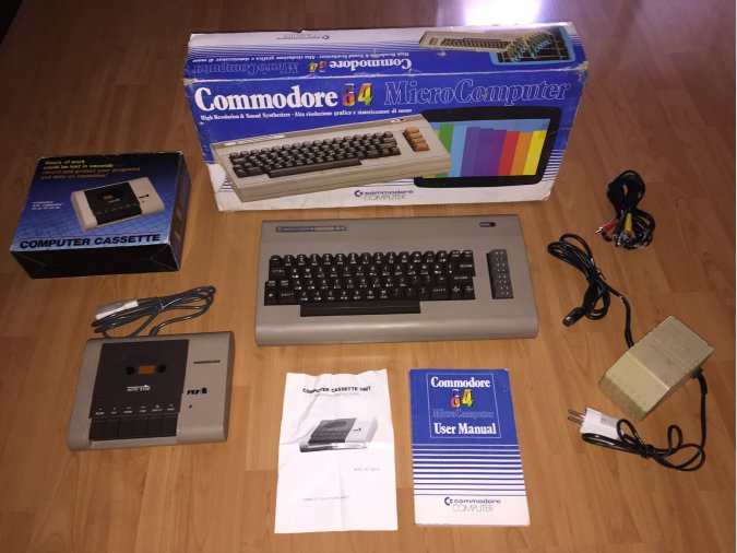 Commodore 64 Computer System Boxed
