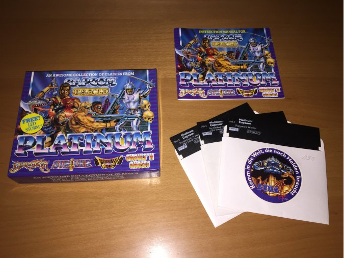 Capcom Platinum juego original Commodore 64
