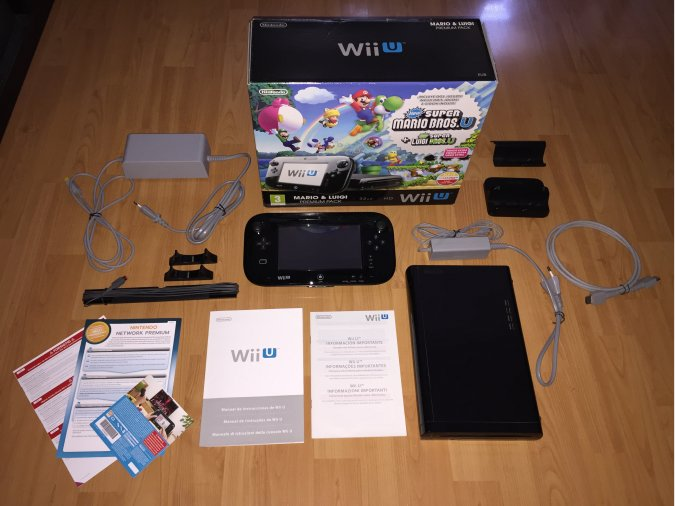 Wii U Console System Boxed