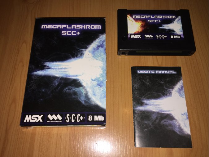 Megaflashrom SCC+ MSX Cartdridge