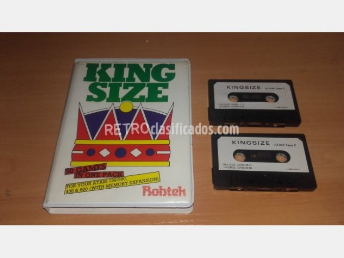 ATARI - KING SIZE 50 GAMES IN ONE PACK