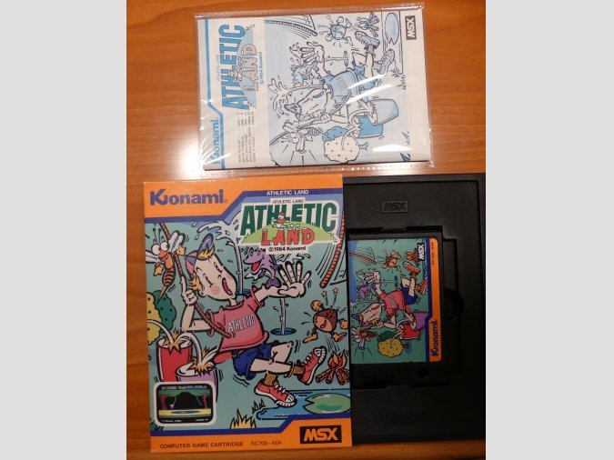 ATHLETIC LAND de Konami RC700