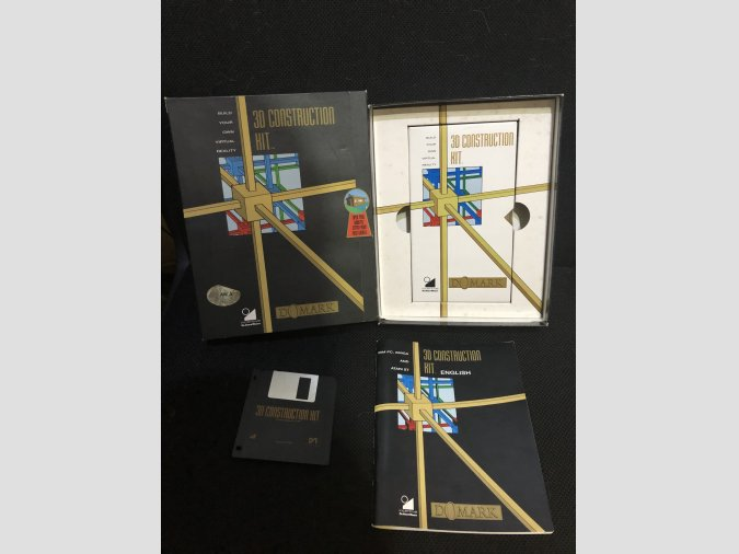 Software Commodore Amiga 3D Construction Kit
