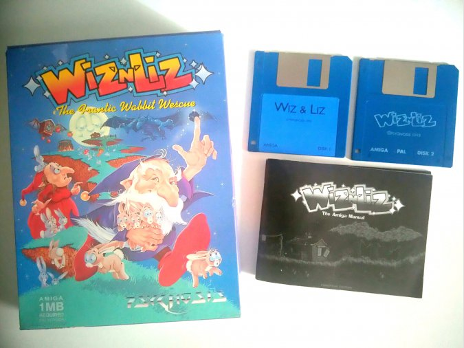 Wiz´N´Liz Commodore Amiga