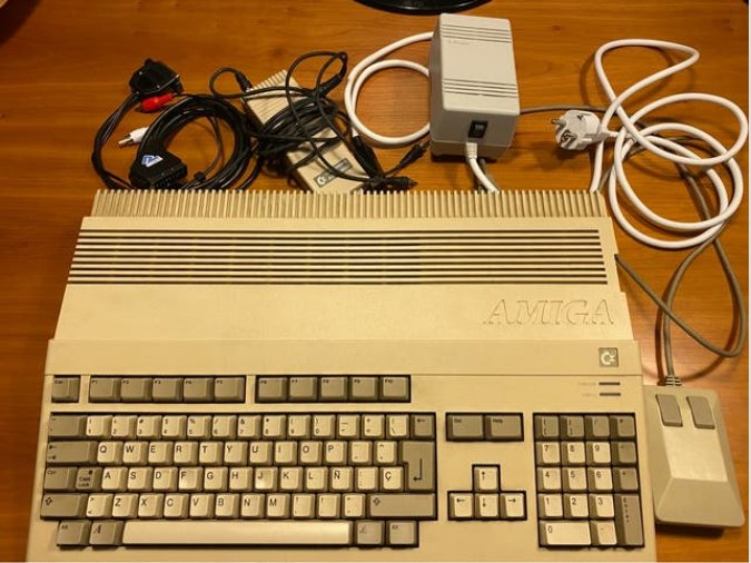 Commodore Amiga 500 + Extras