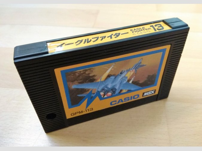 Juego MSX Eagle Fighter Casio 1985