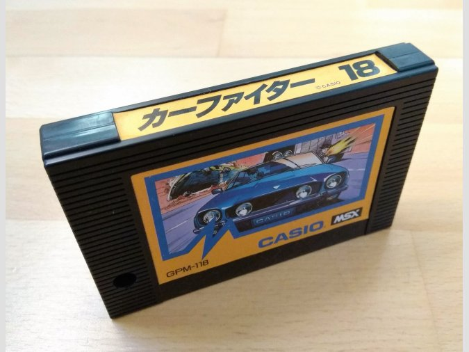 Juego MSX Car Fighter Casio 1985
