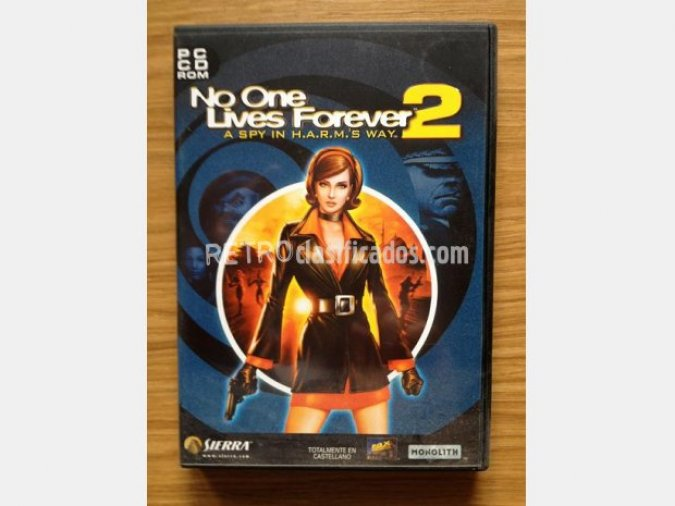 NO ONE LIVES FOREVER 2 (FPS) PC