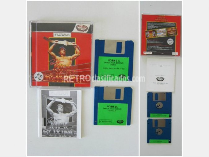 Panza Kick Boxing PC (2 diskettes 3.5)