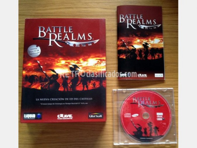 BATTLE REALMS (RTS) PC