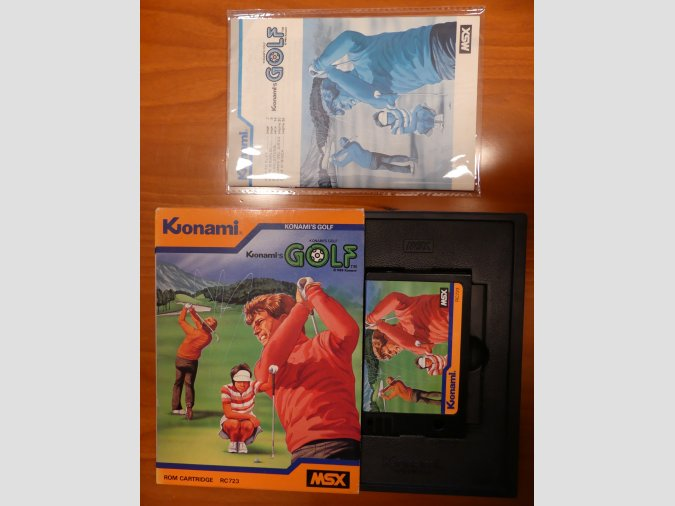 GOLF de Konami RC723
