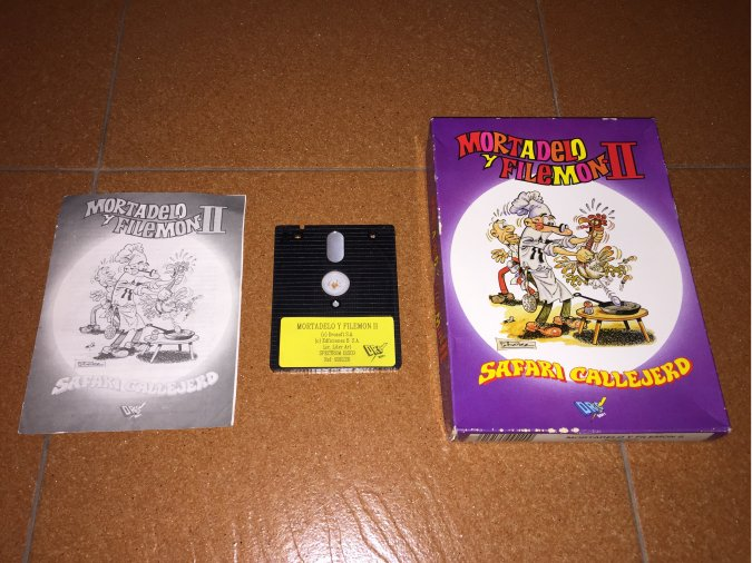 Mortadelo y Filemon 2 Juego original Spectrum +3
