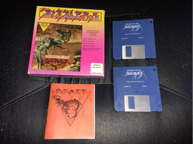 Shadow of the Beast juego original Atari ST