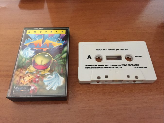 Mad Mix Game juego original Amstrad