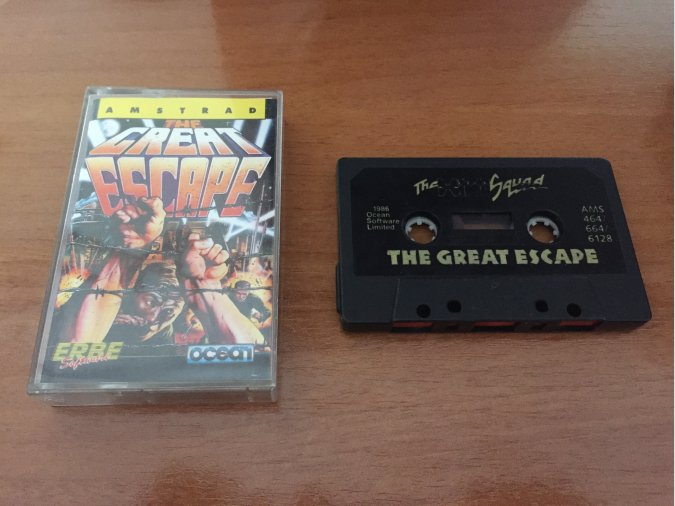 The Great Escape juego original Amstrad