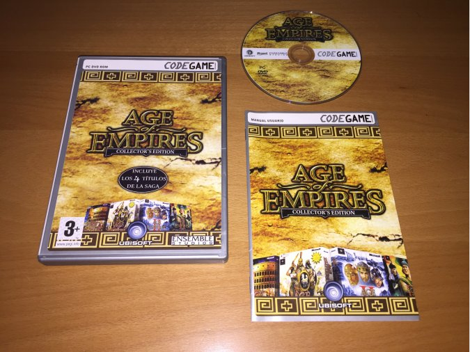 Age of Empires Collectors Edition PC