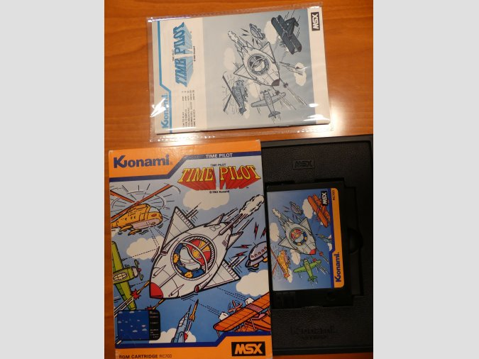 TIME PILOT de Konami RC703