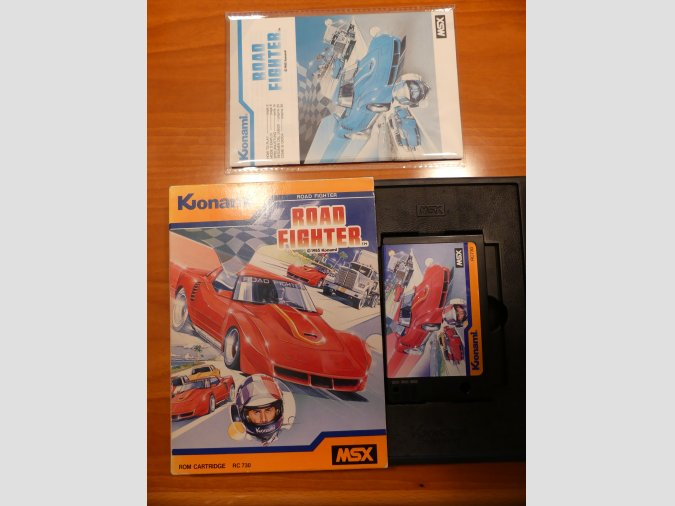 ROAD FIGHTER de Konami RC730