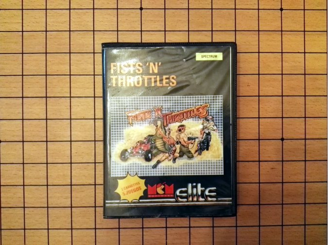 pack de juegos Fists 'n' Throttles para Spectrum