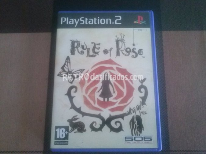 RULE OF ROSE PS2 PAL ESPAÑA