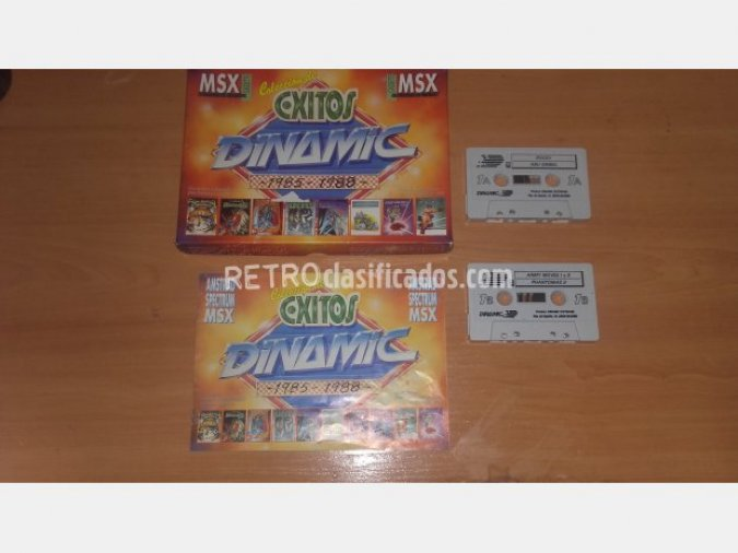 MSX - COLECCION EXITOS DINAMIC 85/88