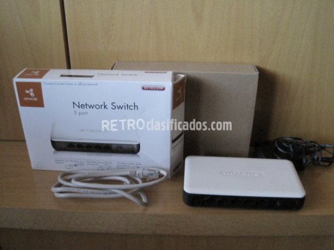 NETWORK SWITCH 5 PORT
